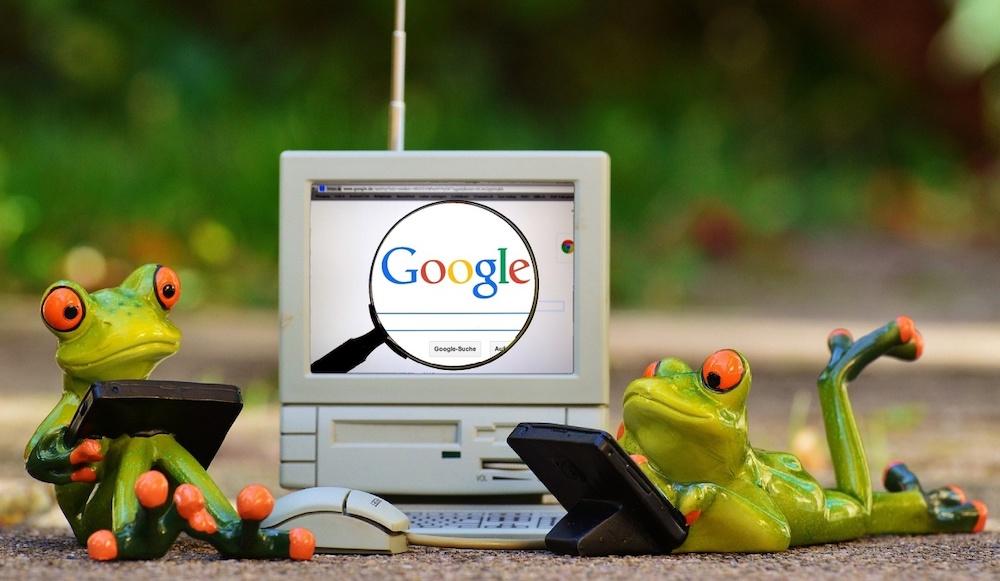 Google zaby