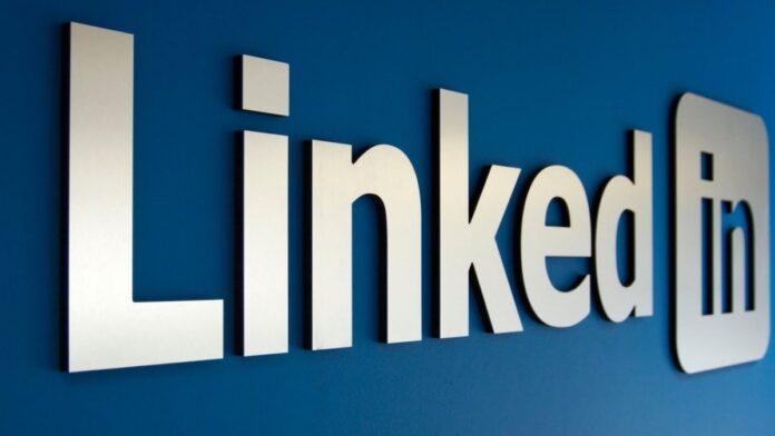 LinkedIn Logo Sign