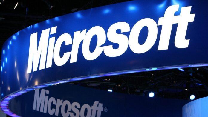 Microsoft Logo Sign