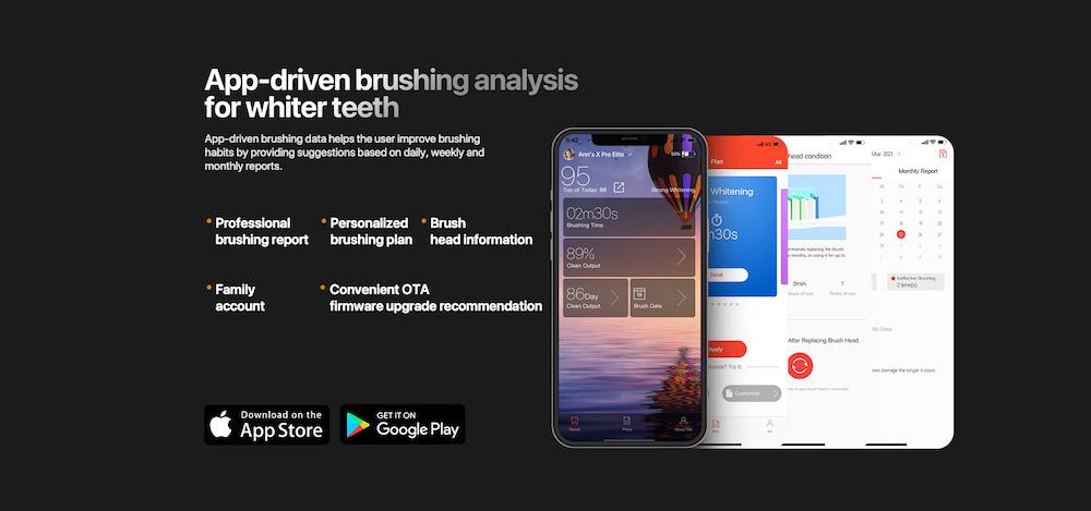 Oclean X Pro Elite App