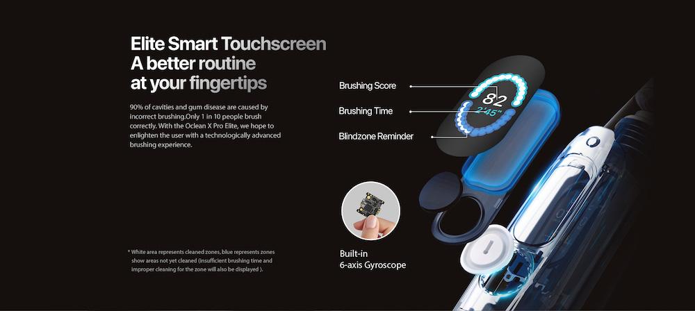 Oclean X Pro Elite Touchscreen