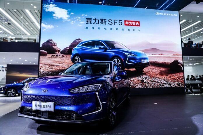 Elektryczny samochód Huawei już w sprzedaży w Chinach