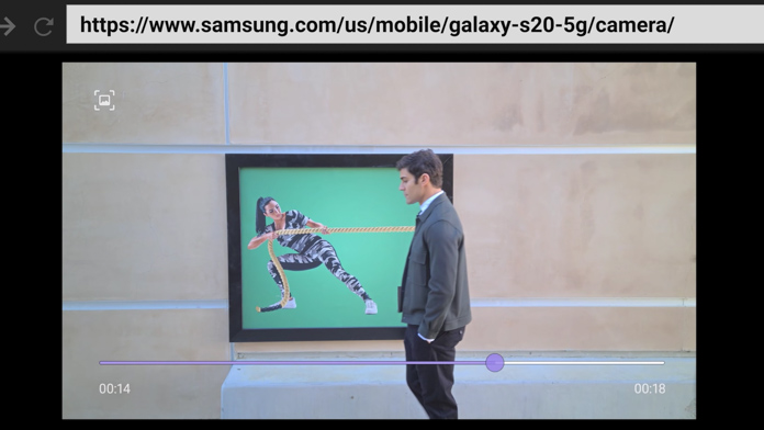 Samsung Galaxy Ultra 20Ultra 8K video