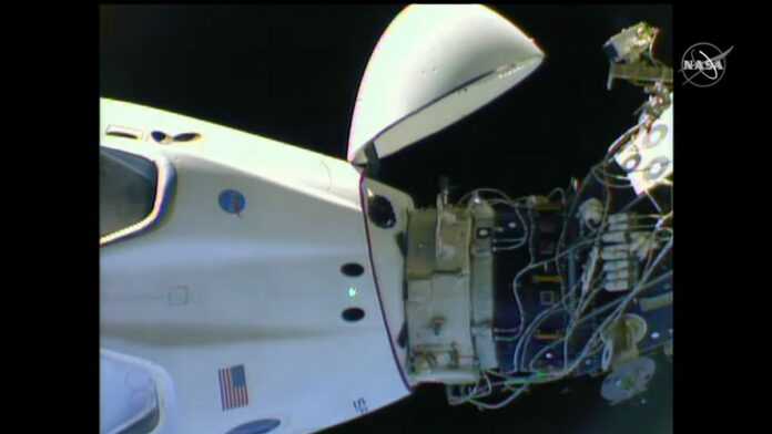 spacex crew dragon repositioning