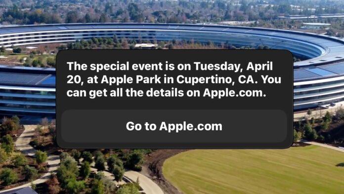 Siri Apple Event