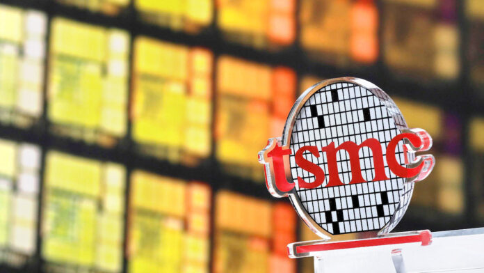 TSMC Logo Sign