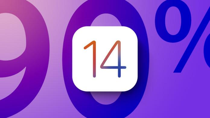 iOS 14 90 Percent Adoption