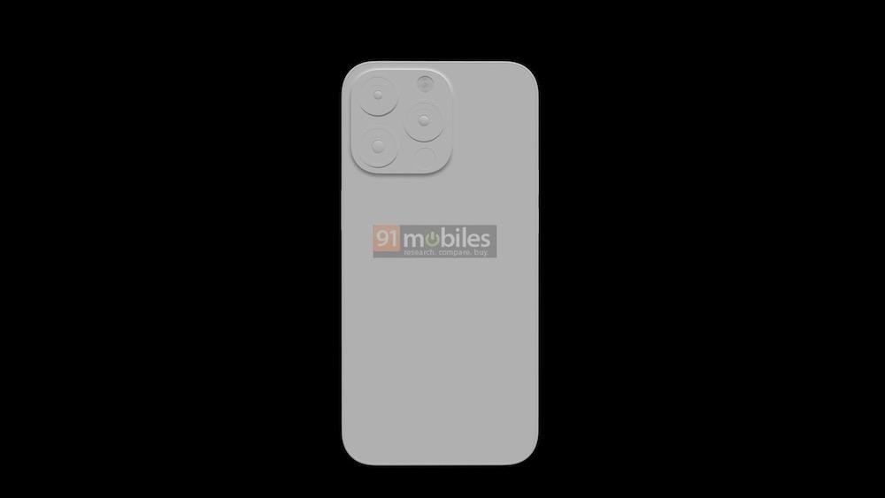 iPhone 13 Pro design leak rear camera