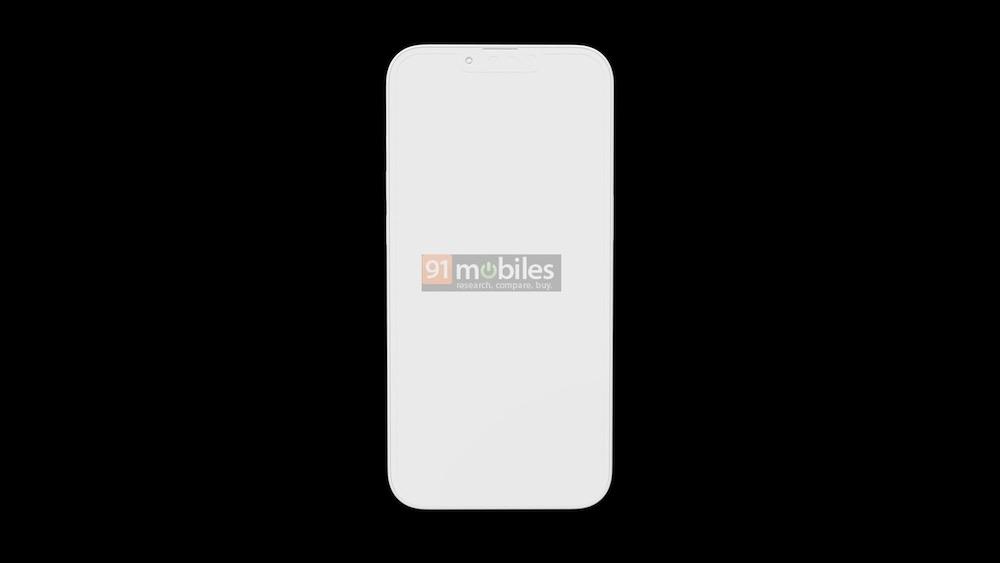 iPhone 13 Pro design leak smaller notch
