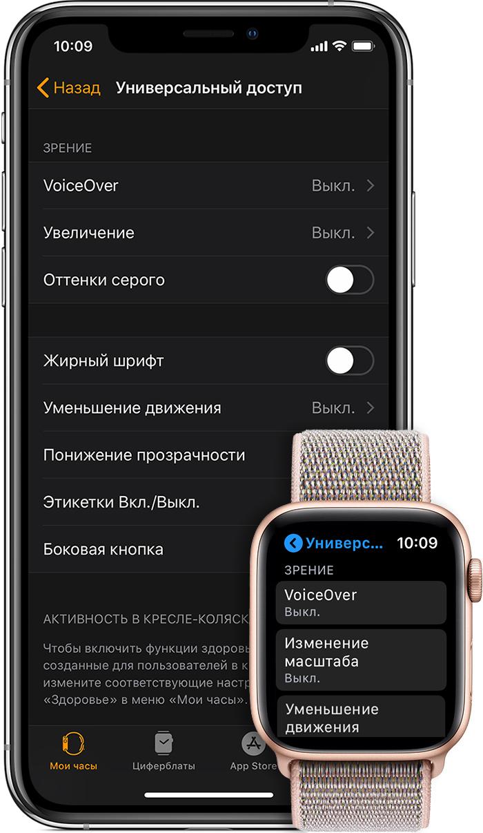 Универсальный доступ iPhone