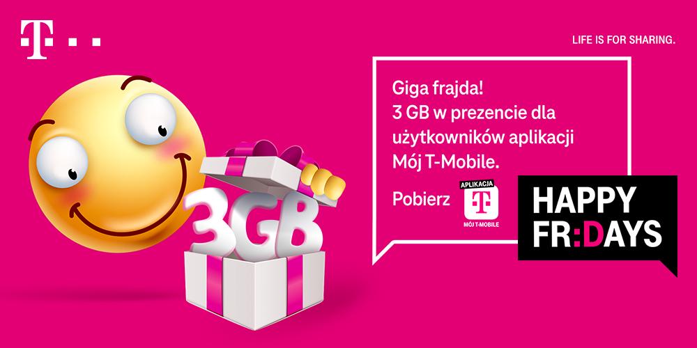 darmowe 3 GB od T-Mobile