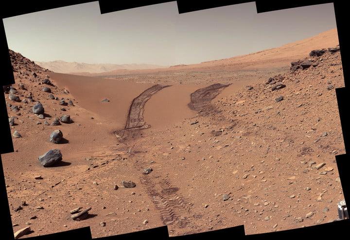 Curiosity NASA Марс