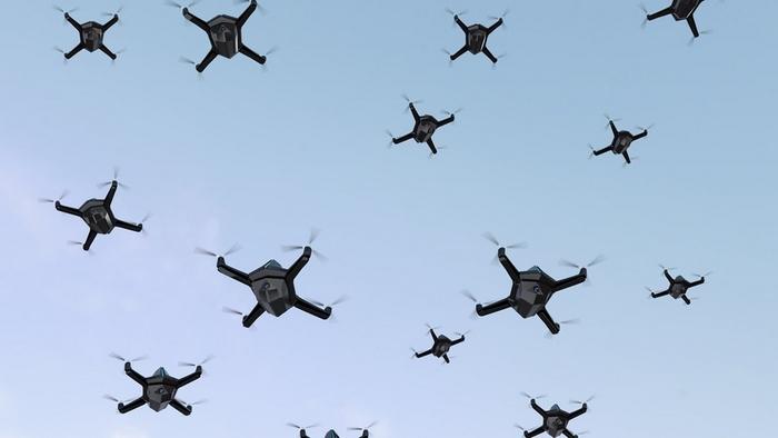 forces drones