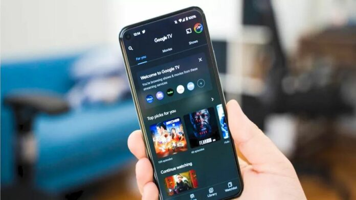 Android TV Smartphone Remote