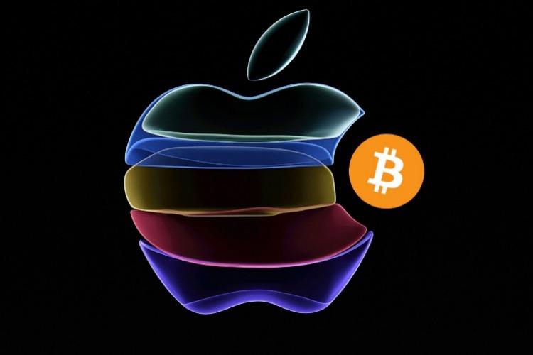 Apple Bitcoin Logos