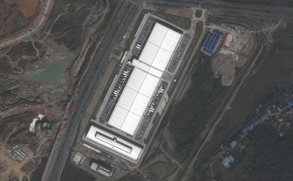 Apple's new data center in China