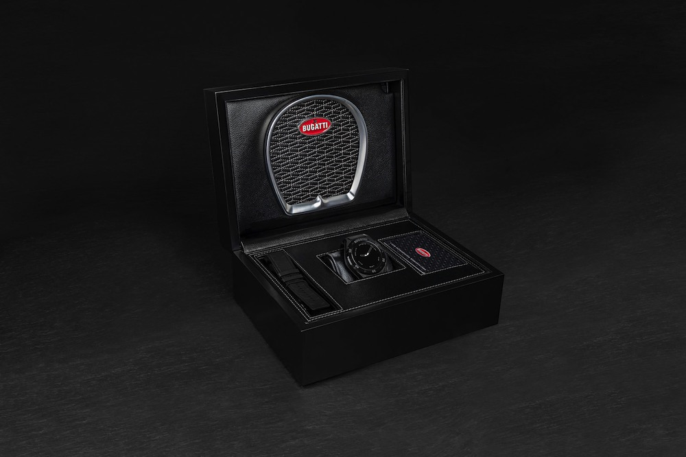 Bugatti smartwatch box