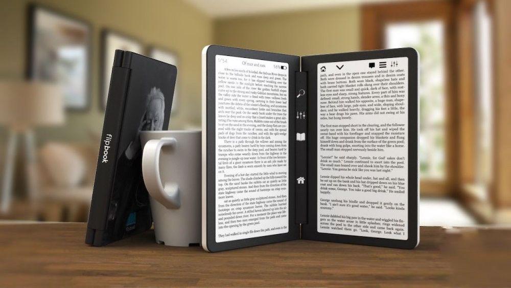 E Ink Dual Screen Concept