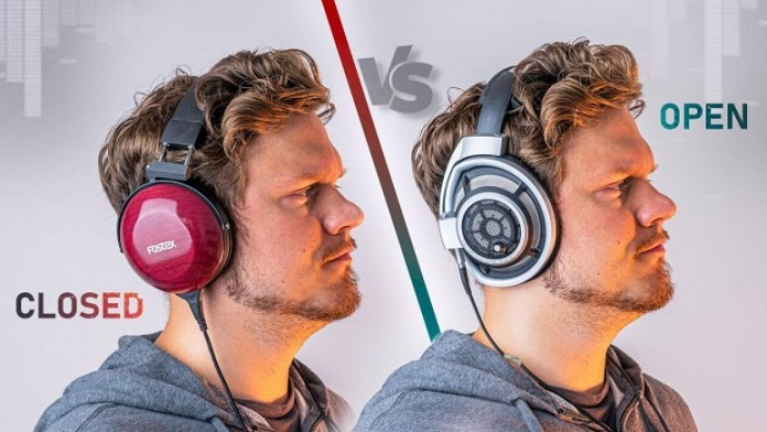 Open-back or closed-back Headphones