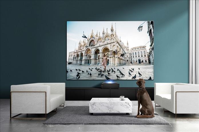 Лазерний телевізор Hisense - MEMC