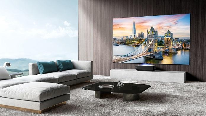 Лазерний телевізор Hisense - 100-дюймовий екран