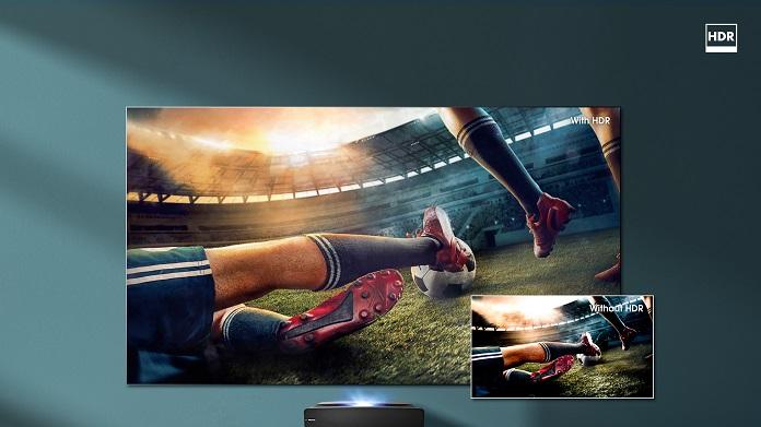 Лазерний телевізор Hisense - HDR