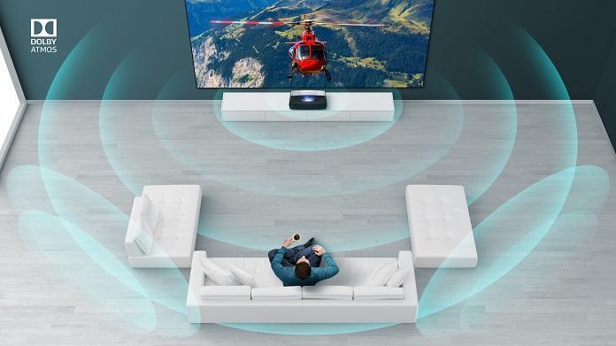 Лазерний телевізор Hisense - DOLBY ATMOS