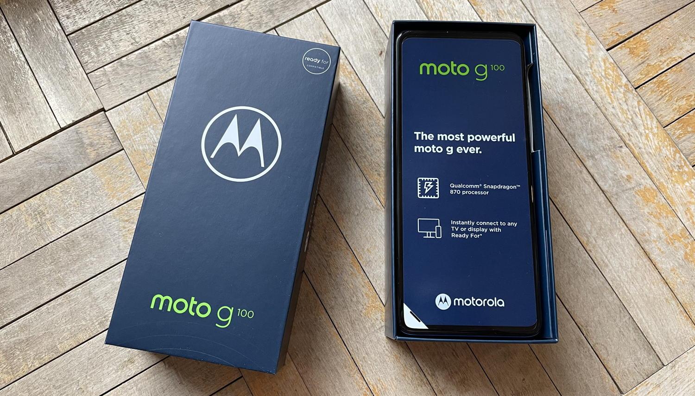 Moto G100