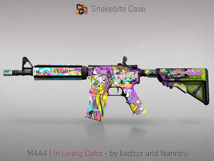 M4A4 | In Living Color