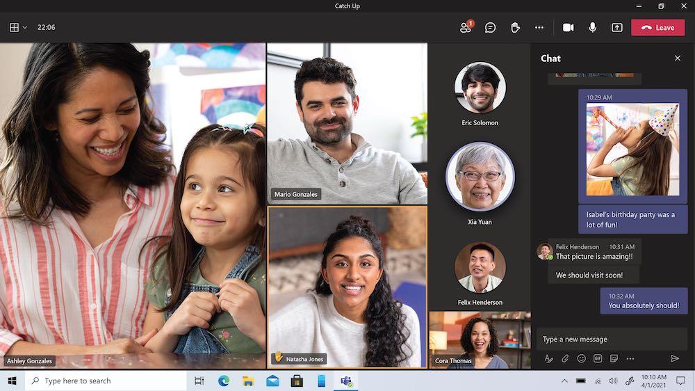 Microsoft Teams Call and chat
