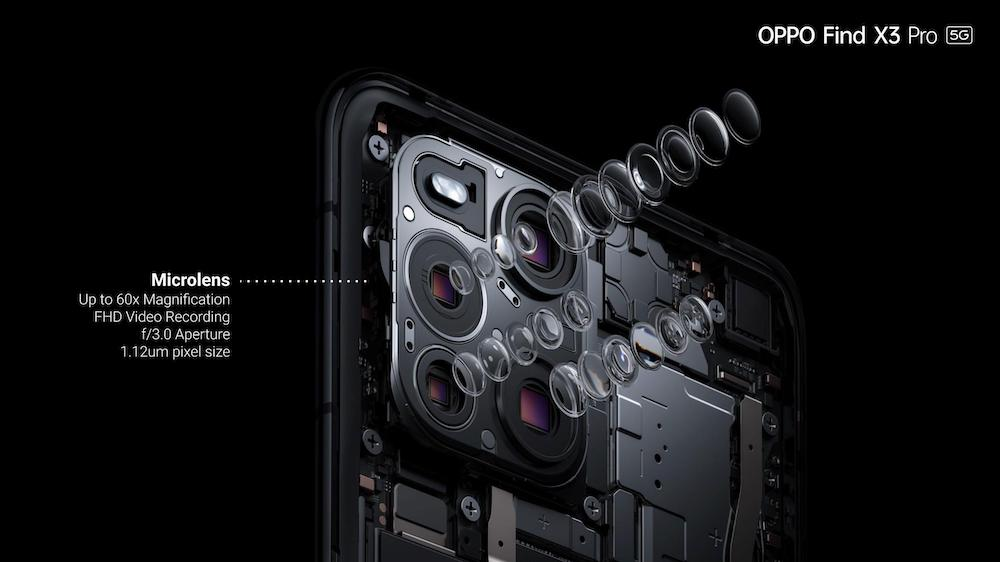 OPPO Find X3 Pro Microlens Specs