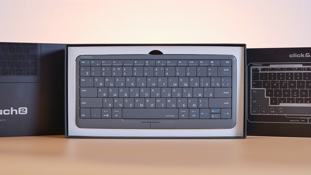 Обзор клавиатуры Prestigio Click&Touch 2: Во всём лучше первой, но не без нюансов
