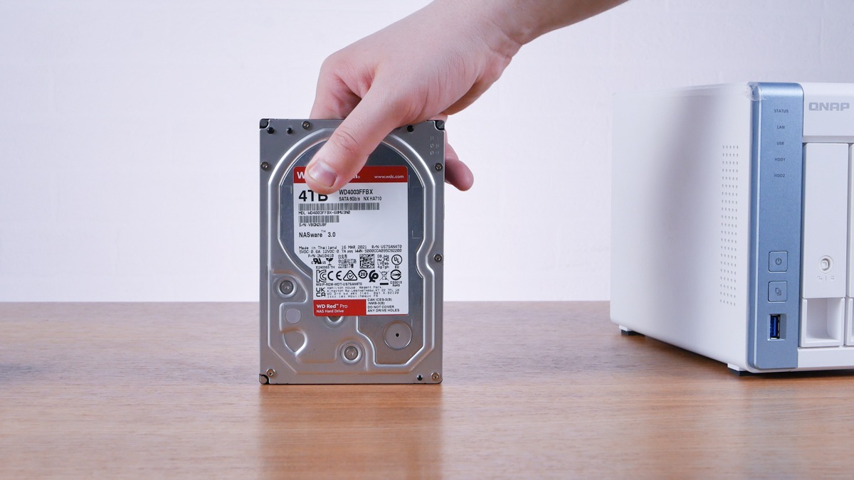 WD RED NAS 4TB