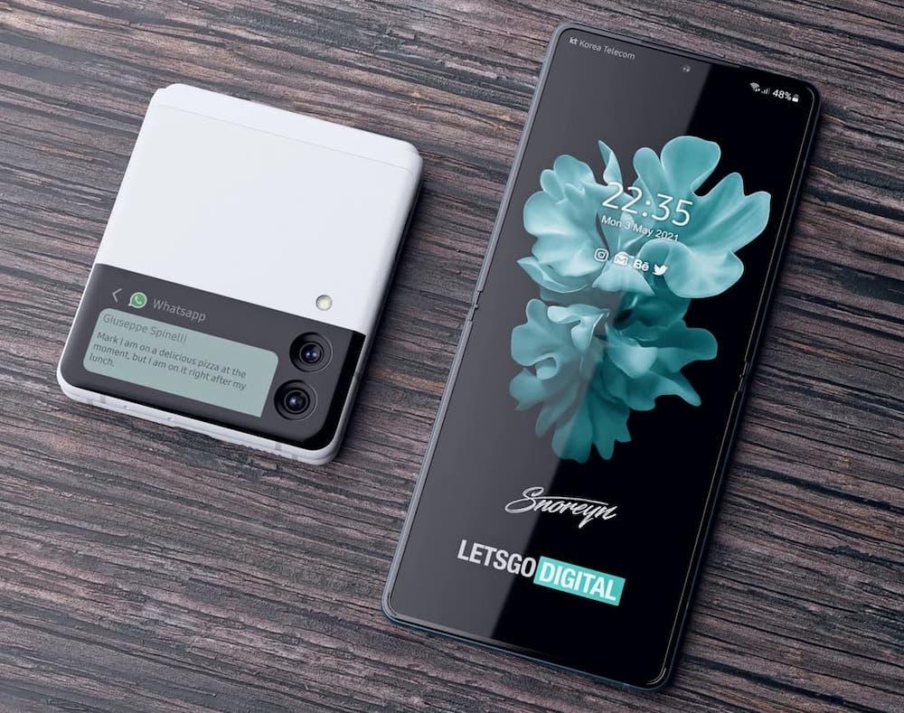 Samsung Galaxy Z Flip 3 New Render