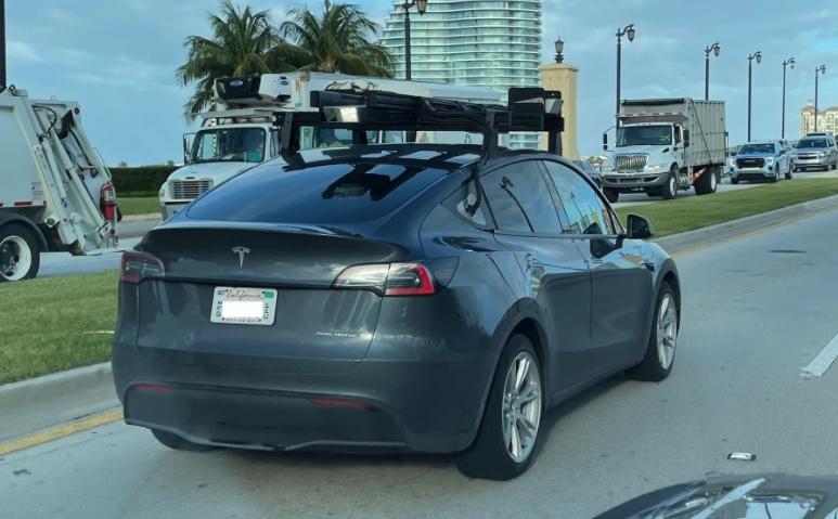 Tesla Luminar LiDAR