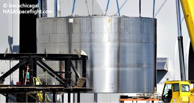 SpaceX Super Heavy BN3