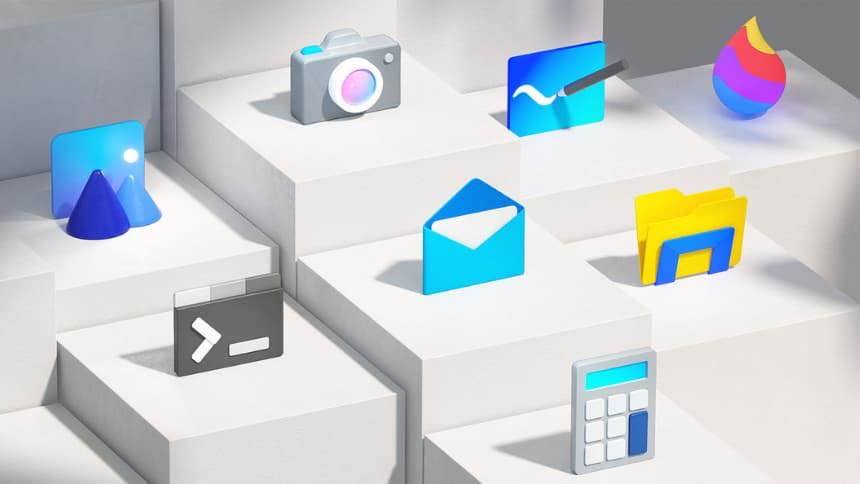 Windows 10 2021 New Icon Design