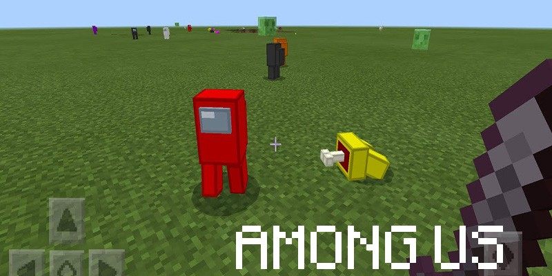 Among Us in Minecraft 1.17.0