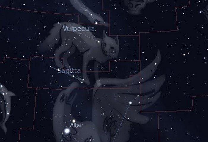 NASA Constellation Sagitta