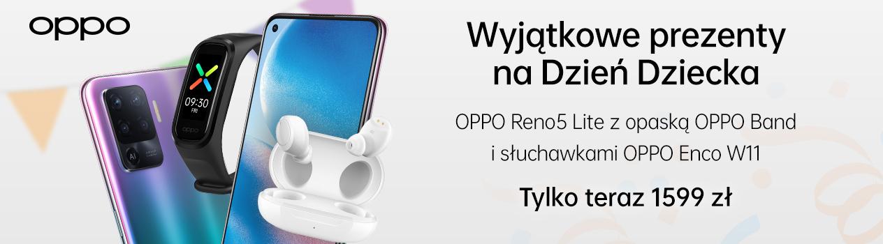 Z okazji dnia dziecka marka OPPO przygotowała promocję dla polskiego rynku