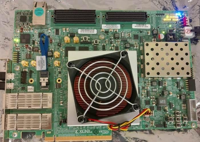 Lock on computer chip Morpheus