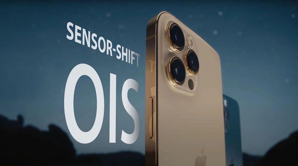iPhone 13 Sensor-Shift OIS
