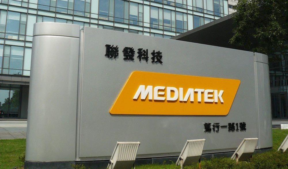 MediaTek Logo Sign