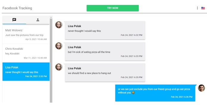 How mSpy Facebook Messages Function Works?