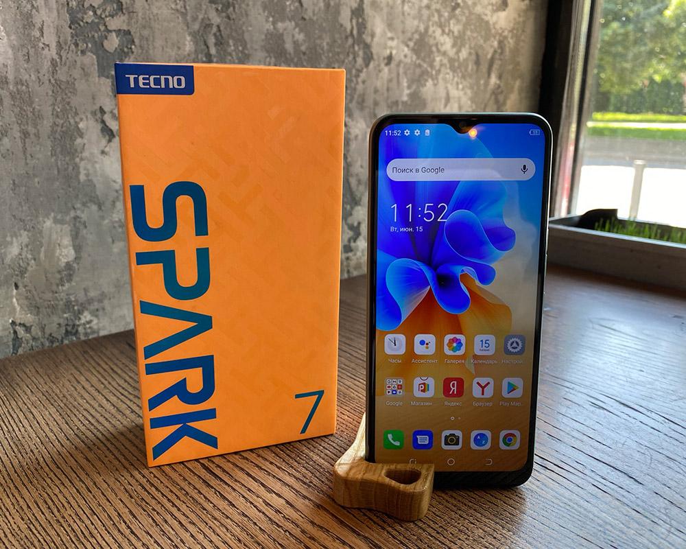 Огляд TECNO Spark 7: смартфон з іскоркою!