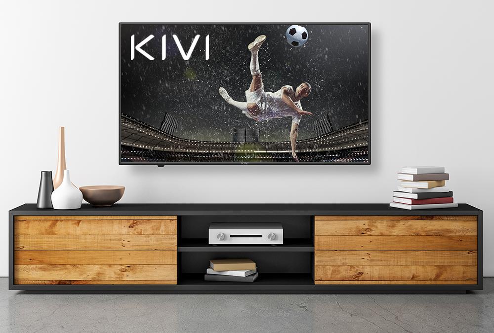 Качественные и надежные 4K-телевизоры к Евро-2020 от KIVI