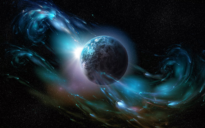 Asteroid Planet Atmosphere