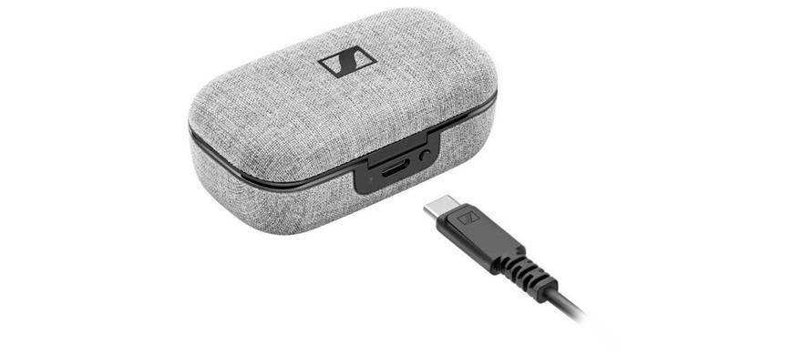 sennheiser momentum true wireless 2 charging
