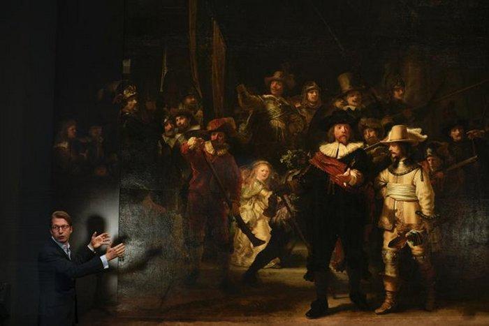 Штучний інтелект допоміг відновити картину Рембрандта