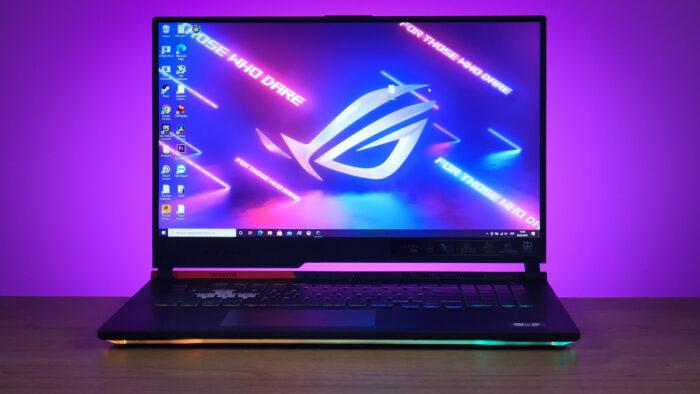 Обзор ноутбука ASUS ROG Strix G17 G713QE: AMD, RGB и RTX